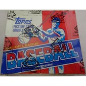 1982 Topps Baseball Cello Box (BBCE) (Reed Buy)