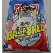 1982 Topps Baseball Wax Box (BBCE) (Reed Buy)