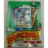 1990 Topps Baseball Wax Box (BBCE) (FASC) (Reed Buy)