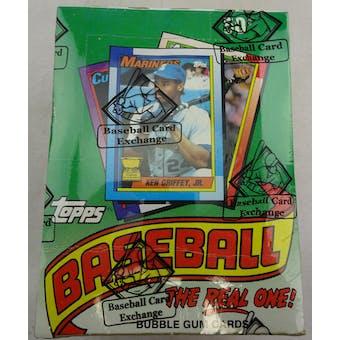 1990 Topps Baseball Wax Box (BBCE) (FASC) (Reed Buy)