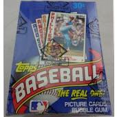 1984 Topps Baseball Wax Box (BBCE) (Reed Buy)