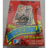 1985 Topps Baseball Wax Box (BBCE) (Reed Buy)