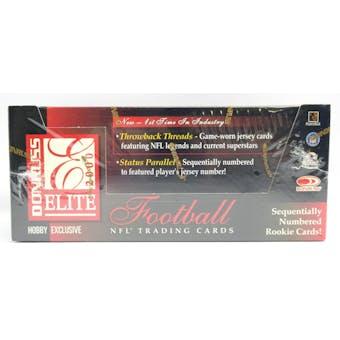 2000 Donruss Elite Football Hobby Box (Reed Buy)
