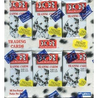 Walt Disney's 101 Dalmatians 36 Pack Box (1996 Skybox)