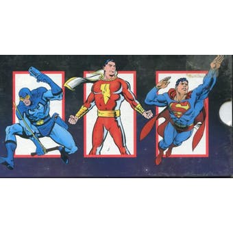 DC Cosmic Cards Factory Set (1991 Impel)