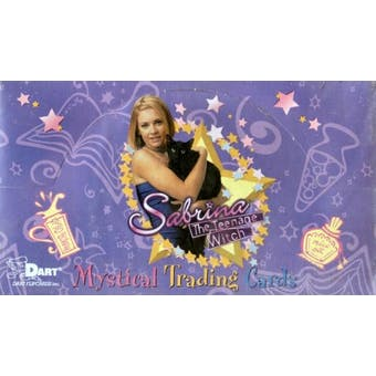 Sabrina the Teenage Witch Hobby Box (2000 Dart Flipcards)