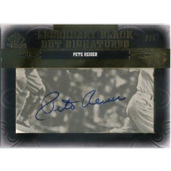 2011 SP Legendary Cuts Legendary Black Signatures #BRLAPR Pete Reiser Autograph #/6 (Reed Buy)