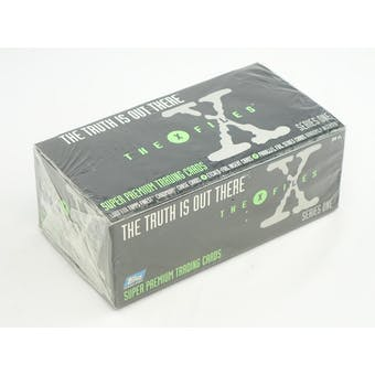 The X-Files: The Truth is Out There Super Premium Trading Cards Jumbo Pack Box (Reed Buy)