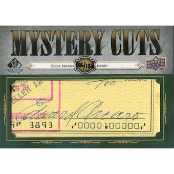 2008 SP Legendary Cuts Mystery  Cut Signatures #EA2 Eddie Arcaro Autograph #/135 (Reed Buy)
