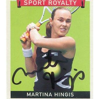 2007 Upper Deck Goudey Sport Royalty Autographs #HI Martina Hingis (Reed Buy)