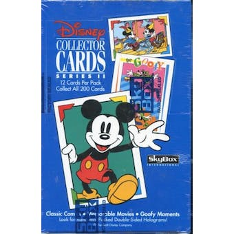 Disney Collector Cards Series 2 Hobby Box (1992 Skybox)