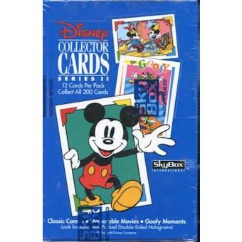 Disney Collector Cards Series 2 Hobby Box (1992 Skybox)