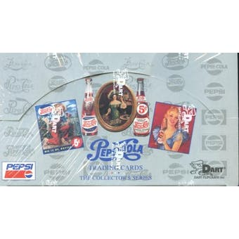 Pepsi Collector's Series 1 Hobby Box (1994 Dart Flipcards) (Reed Buy)