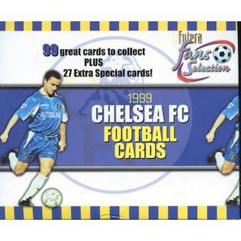 1999 Trade Cards Chelsea Soccer Hobby Box