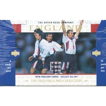 1998 Upper Deck England Soccer Hobby Box