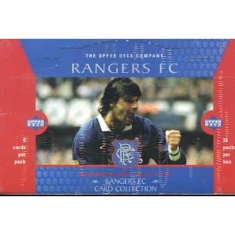 1998 Upper Deck Glasgow Rangers Soccer Hobby Box
