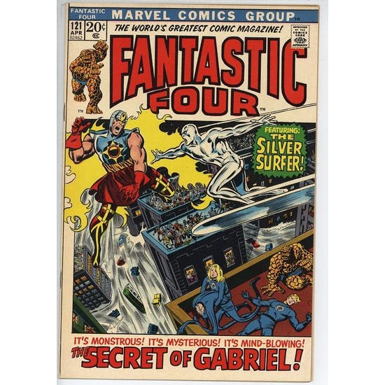 Fantastic Four #121 VF/NM