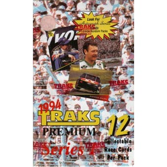 1994 Traks Series 1 Racing Hobby Box