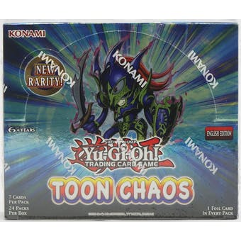 Yu-Gi-Oh Toon Chaos Unlimited Booster Box
