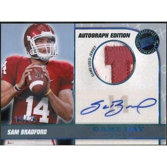 2010 Press Pass PE Game Day Gear Jerseys Autographs #GDGSB Sam Bradford #/25 (Reed Buy)
