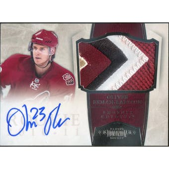 2010/11 Panini Dominion #250 Oliver Ekman-Larsson JSY Autograph RC #/99 (Reed Buy)