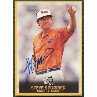 1997 Press Pass Football #26 Steve Spurrier Auto