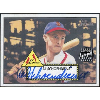 2001 Topps Heritage Autographs #THARS Red Schoendienst (Reed Buy)