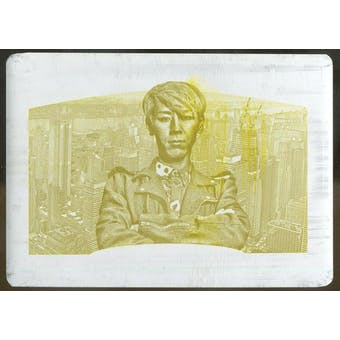 2017 Goodwin Champions Yellow Printing Plate Takeru Kobayashi 1/1 (Reed Buy)