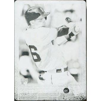 2015 Topps Baseball Black Printing Plate #139 Gary Brown 1/1 (Reed Buy)