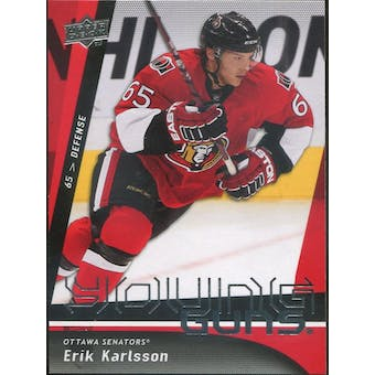 2009/10 Upper Deck #210 Erik Karlsson Young Guns RC (Reed Buy)