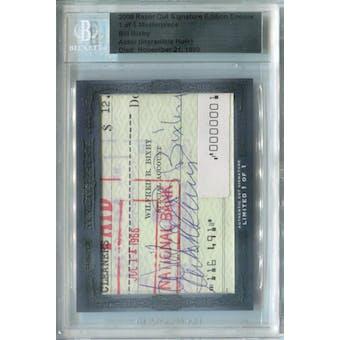 2008 Razor Cut Signature Edition Bill Bixby Autograph 1/1 (Reed Buy)
