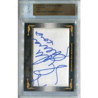 2010 Razor Cut Signature Edition Vida Guerra Autograph 1/1 (Reed Buy)