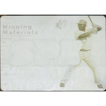 2007 SPx Winning Materials Printing Plates Yellow #ME Melky Cabrera 1/1 (Reed Buy)