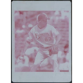 2007 Topps Update Printing Plates Magenta #111 Kevin Gregg 1/1 (Reed Buy)