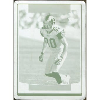 2006 Topps Printing Plate Cyan #233 Isaac Bruce 1/1 (Reed Buy)
