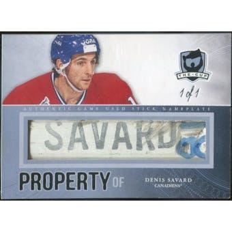 2011/12 The Cup Property Of #POFSA Denis Savard 1/1 (Reed Buy)
