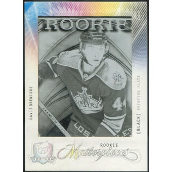 2009/10 The Cup Printing Plates Artifacts Black #MAS173 Davis Drewiske 1/1 (Reed Buy)