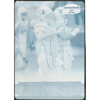 2007 Donruss Gridiron Gear Printing Plates Cyan #195 Toby Korrodi 1/1 (Reed Buy)