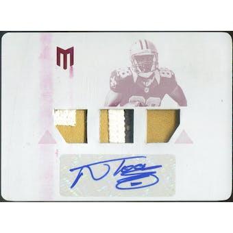 2012 Momentum Printing Plates Magenta #127 Nick Toon JSY Autograph 1/1 (Reed Buy)