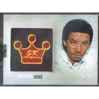 2008 Sportkings Logo Card #17 Arthur Ashe 1/1 (Reed Buy)