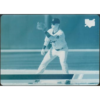 2008 Stadium Club Printing Plates Cyan #133b Chin-Lung Hu 1/1 (Reed Buy)