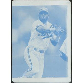 2003 Topps Gallery Press Plates Yellow #65 Jose Vidro 1/1 (Reed Buy)