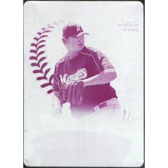 2006 Upper Deck Ovation Printing Plate Magenta #96 Josh Johnson 1/1 (Reed Buy)