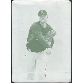 2010 Topps Tribute Printing Plates Magenta #59 Roy Halladay 1/1 (Reed Buy)