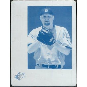 2006 Upper Deck SPx Printing Plates Cyan #81 Jason Schmidt 1/1 (Reed Buy)