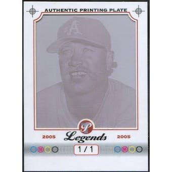 2005 Topps Pristine Legends Printing Plates Magenta #17 Goose Gossage 1/1 (Reed Buy)
