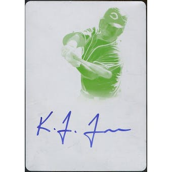2013 Bowman Sterling Prospect Autographs Printing Plates Yellow #KF Kevin Franklin 1/1 (Reed Buy)
