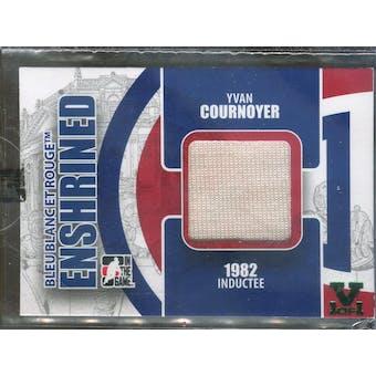 2008/09 ITG Bleu Blanc et Rouge Enshrined #E18 Yvan Cournoyer Vault 1/1 (Reed Buy)