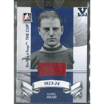 2008/09 ITG Bleu Blanc et Rouge The Cup #2 Aurel Joliat Vault 1/1 (Reed Buy)