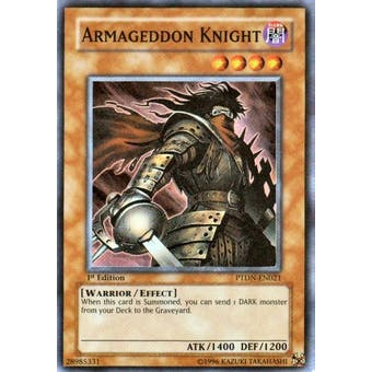 Yu-Gi-Oh Phantom Darkness Single Armageddon Knight Super Rare